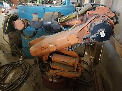 Nachi Sf133 Robot With Aw11 Control System Used Tested Working.
