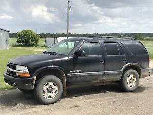 2004 Chevy blazer for sale