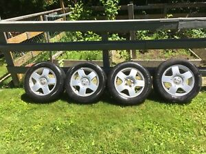 P195 65 R15 Volkswagen Rims with Michelin Destiny Tires