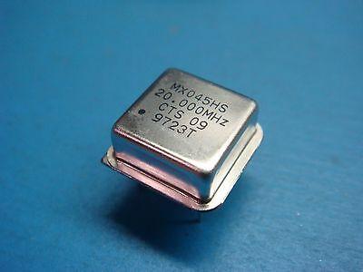 5 Cts Mx045hs-20.0000 Mxo45hs-20.0000 20 Mhz 5v Ttl Clock Oscillator Half Size