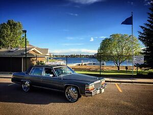 1987 Cadillac Brougham On 24's