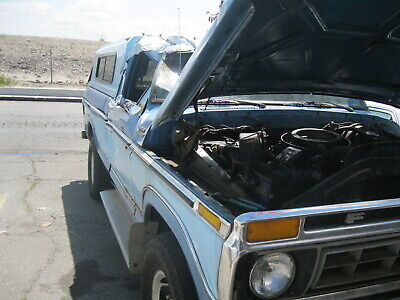 77 Ford F-250 Truck with gas & manual 4 speed 4X4 BIG BLOCK ROLL OVER