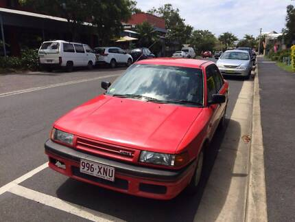 Automatic Mazda 323 with rego until April 9th