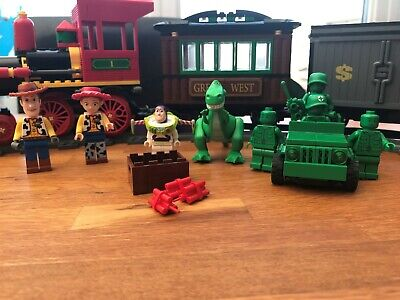 Lego 7597 Toy Story Western Train Chase with Extras!