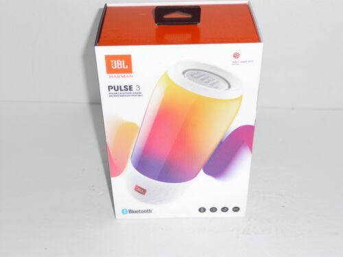 JBL Pulse 3 Portable Bluetooth Speaker White JBLPULSE3WHTAM