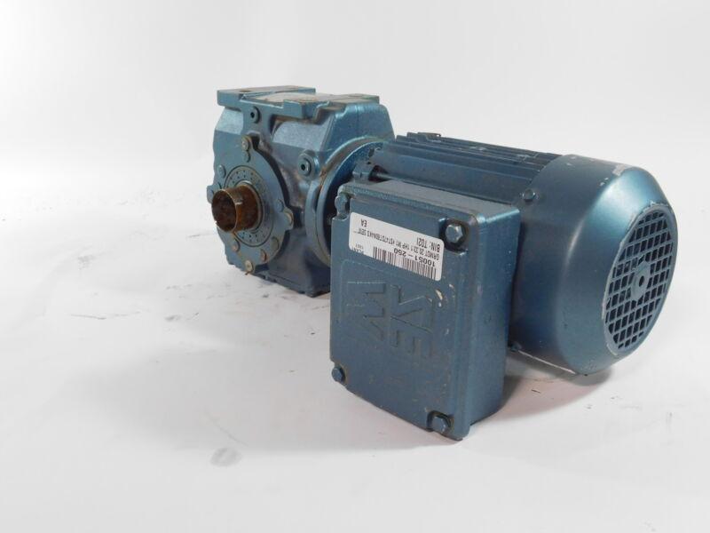 SEW-EURODRIVE 20.33:1 Gear Reducer w/1 HP Motor - NEW Surplus!