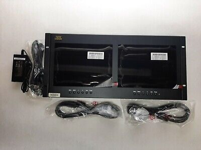 """Used, Tote Vision LED-1002HD2 9.7"""" HD 1080P LED Dual Monitor   for sale  Shipping to India"""