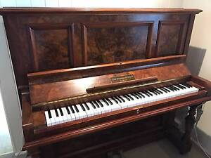 Antique Restored Upright Piano John Broadwood & Sons Coorparoo Brisbane South East Preview