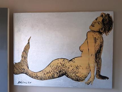 """Wanted: DAVID BROMLEY  """"The Mermaid """""""