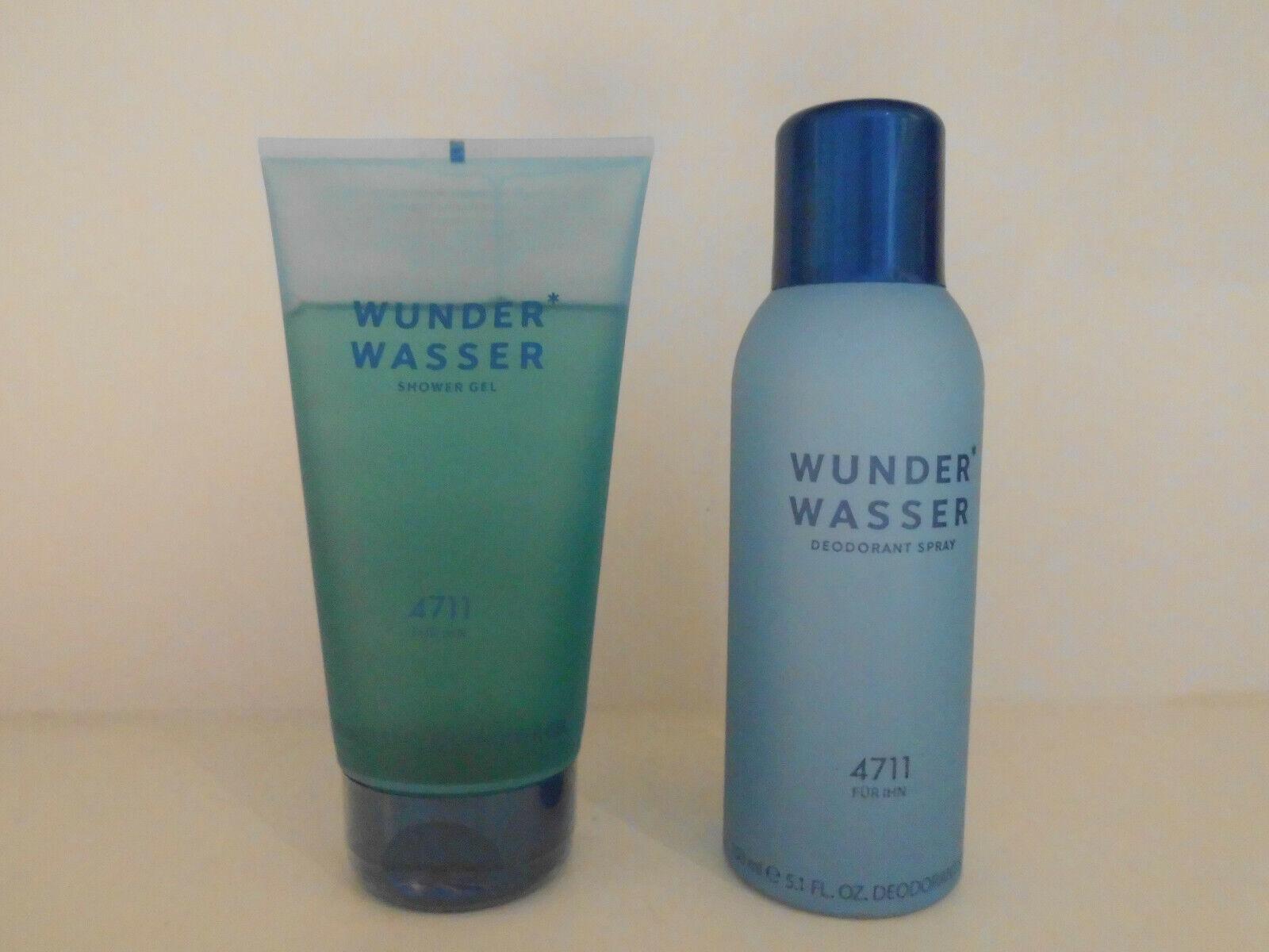 4711 Wunderwasser für Ihn 2 tlg. Set Shower Gel 150 ml + Deo Spray 150 ml