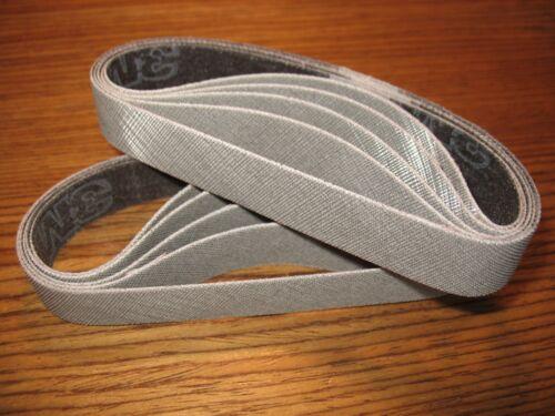 "10pc 3/4 x 12"" 120 grit 3M Trizact sanding belts for Ken Onion knife sharpener"