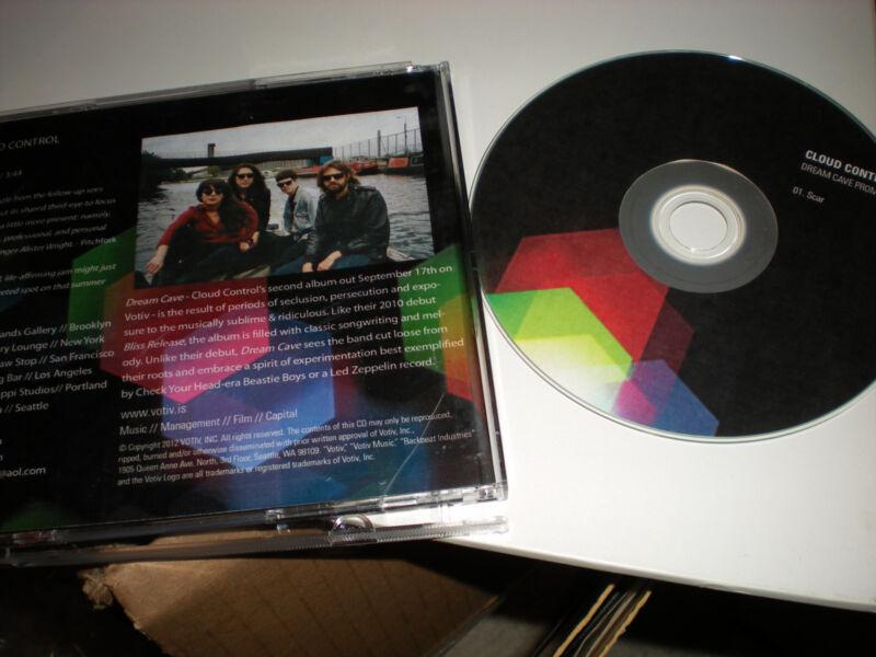 Cloud Control Scar CD SINGLE one track