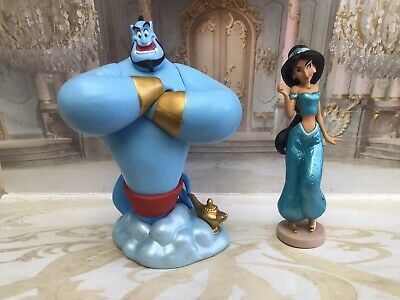 Disney Princess Jasmine And Genie Aladdin Figures Toys Disney Store