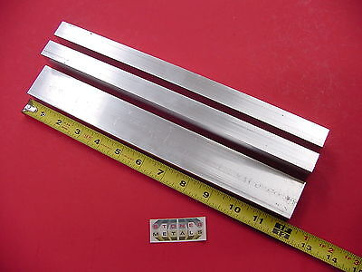 3 Pieces 34x 1-12x 18 Wall Aluminum Rectangle Tube 6063 T52 X 12 Long