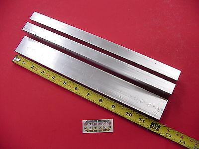 3 Pieces 34x 1-12x 18 Wall Aluminum Rectangle Tube 6063 T52 X 12 Long