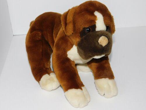 Dog Plush Animal Alley Toys R Us Stuffed Toy Puppy Brown Bulldog