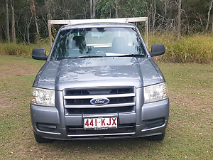 2007 Ford Ranger PJ XL Grey 5 Speed Manual Cab Chassis Redbank Plains Ipswich City Preview