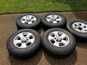 """ROH 16"""" Alloy Rims and Bridgestone Tyres for Hilux Wynnum Brisbane South East Preview"""