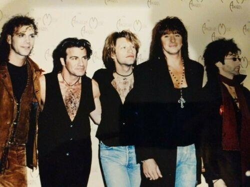 Bon Jovi 8X10 Color Glossy Photo JON BON JOVI American Music Awards