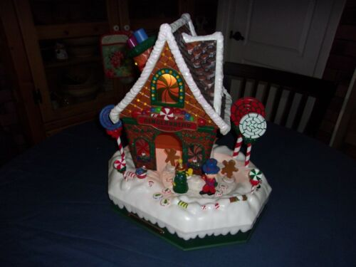 Animated Lighted Musical  Gingerbread House by Holiday Living