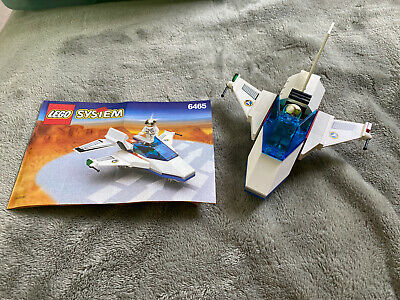 Lego 6465 Space Port Jet Town complete with instructions