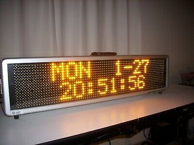 Signtronix Led-40 Programmable Message Sign
