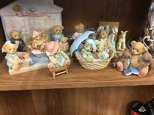 Cherished teddy bear collection