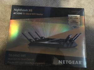 Nighthawk x6 Ac3 200 Tri-band Wifi router