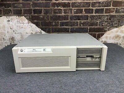 Dell System 320LX Computer Intel 386 20MHz DOS 5.0 4MB RAM 100MB HDD 1.2MB FDD