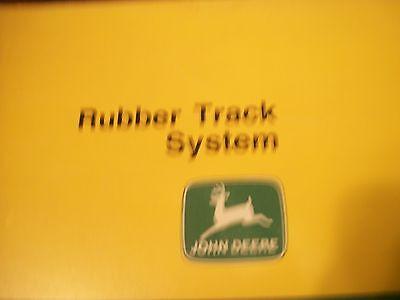 JOHN DEERE OPERATOR'S MANUAL COMBINE RUBBER TRACK SYSTEM S
