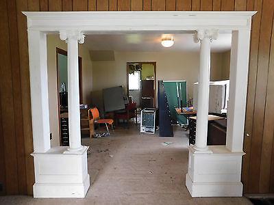Antique Craftsman Style Complete Colonnade - C. 1905 Fir Architectural Salvage