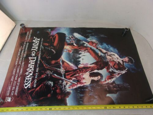 "VINTAGE ARMY OF DARKNESS POSTER 24""x 36"" 1993 Orion"