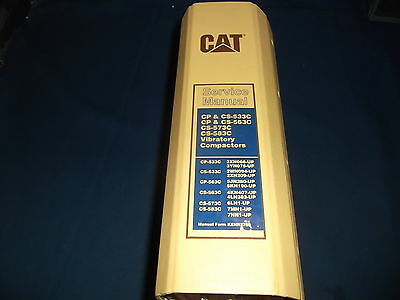 Cat Caterpillar Cp Cs 533c 563c 573c 583c Compactor Shop Repair Service Manual