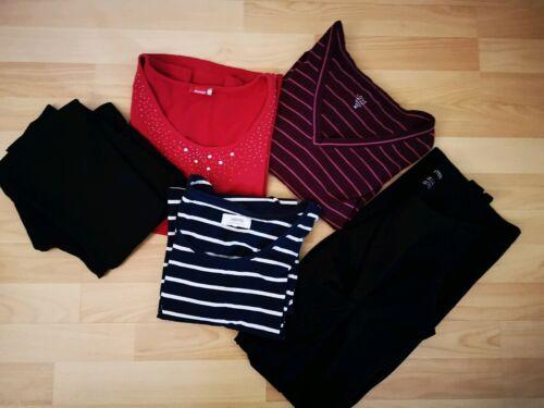 Set Kombi Umstandsmode Schwangerschaftskleidung Gr. M Shirts Kleid Leggins...