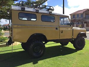 Land Rover 1977 Series 3 Wagon Mindarie Wanneroo Area Preview