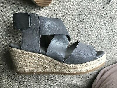 Worn Twice Eileen Fisher Willow 3 Sandal Size 81/2  Currently On Zappos for $198