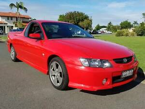 VERY NICE 180KM 2004 COMMODORE SS UTILITY MANUAL CAMMED 7/19REGO