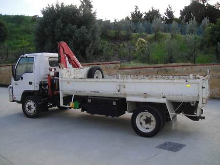 ISUZU 450 Tipper/Hiab Golden Bay Rockingham Area Preview