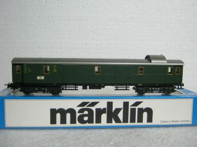 Märklin HO/AC 4142 Gepäckwagen 105312 DRG (CO/263-13R7/11)