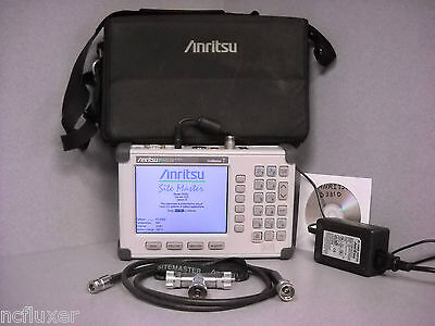Anritsu Site Master S331d Cable Antenna Analyzer W Osl Opt 3 Color Display