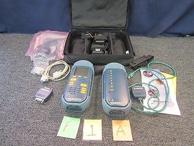 Wavetek Cable Tester Lt-8100a 100 Mhz Cat5 Antennarf Fiber Military Wire Used