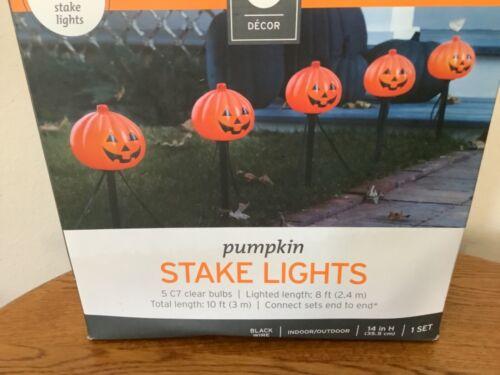 Halloween Pumpkin Pathway Lights Blow Mold 629H