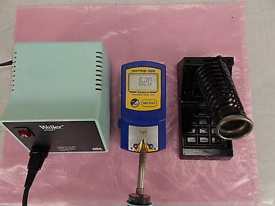 Weller Wtcpt Soldering Station W Stand Soldering Iron Pencil Tested