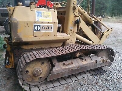 Caterpillar 931 Track Loader Parts Machine