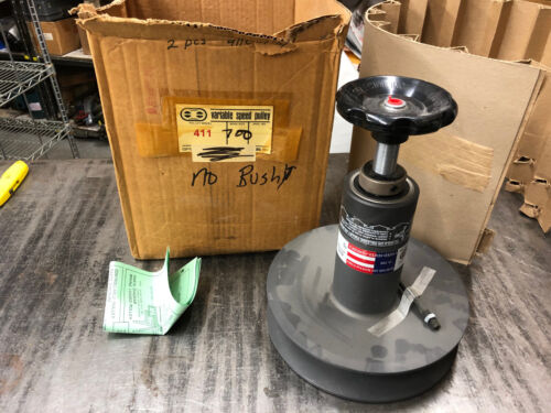 "NEW Variable Speed Selector 411-700 Pulley 2"" Bore NO COLLET"