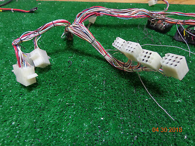 Ge Mastr Ii Master Uhf Vhf Radio Back Plane Repeater Wiring Harness Bs-1