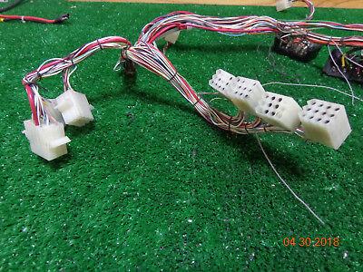 Ge Mastr Ii Master Uhf Vhf Radio Back Plane Repeater Wiring Harness Bs-1