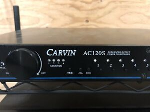 Carvin Power Conditioner & Sequencer!