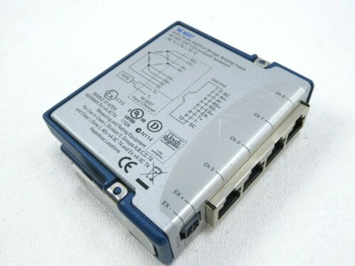 National Instruments NI 9237 Bridge Analog Input Module 4-Channel