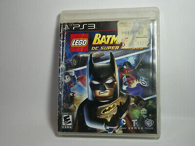 LEGO BATMAN 2 DC SUPER HEROES Playstation 3 PS3 GAME ONLY TESTED FREE SHIP